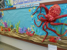 Bathtub Mat No Suction Cups by Under The Sea Bulletin Board Made W Pool Noodles Spray Insulation