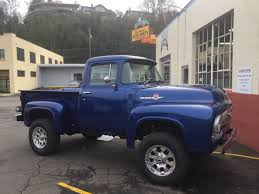 Clackamas Auto Parts On Twitter 1956 Ford F100 4x4 ClackamasAP 1956 Ford Truck For Sale F 100 Pickup Ozdereinfo Ford F100 Classic Hot Rod Youtube Curbside F600 Every Neighborhood Should Have A Slammed United Pacific Car Show 2016 Hotrod Trucks Archives Classictrucksnet Gene Simmons Shows Love Mustang With This Shelbyinspired 4clt01o1956fordf100piuptruckcustomfrontbumper An American Masterpiece Fordtruckscom Red Patina Original Rat Az Truck Brochures Coe Badass Rides Pinterest Trucks And Cars