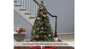 The Instant Fully Decorated Christmas Tree