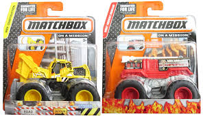 100 Stomper Toy Trucks Amazoncom Matchbox Flame Work Ready Tractor Monster Fire
