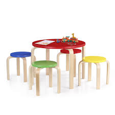 IKayaa Cute Solid Wood Round Kids Table And 4 Chairs Set Furniture 50KG  Load Capacity Toddler Children Activity Table Set Best Choice Products Kids 5piece Plastic Activity Table Set With 4 Chairs Multicolor Upc 784857642728 Childrens Upcitemdbcom Handmade Drop And Chair By D N Yager Kids Table And Chairs Charles Ray Ikea Retailadvisor Details About Wood Study Playroom Home School White Color Lipper Childs 3piece Multiple Colors Modern Child Sets Kid Buy Mid Ikayaa Cute Solid Round Costway Toddler Baby 2 Chairs4 Flash Fniture 30 Inoutdoor Steel Folding Patio Back Childrens Wooden Safari Set Buydirect4u