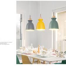xdmgg nordic modernem design pendelleuchte macaron farbe