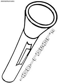 Flashlight Coloring Pages To Print