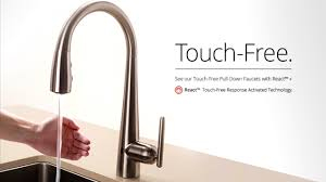 Touchless Bathroom Faucet Kohler by Bathroom Prepossessing Waldron Single Hole Touchless Kitchen