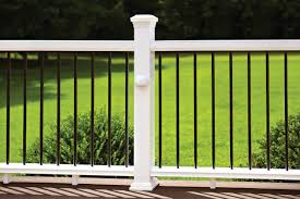 Trex Decking Pricing Home Depot by Outdoor Cozy Fiberon Railing For Your Deck Design Ideas