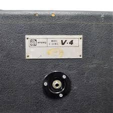 Ampeg V4 Cabinet For Bass by Used Ampeg Ampeg V4 4x12 Cab 1976 Guitar Speaker Cabinet 4 X 12