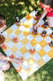Creating An Extra Large Ombre Checkers Board Using Colorful IZZER Bottles As Playing Pieces Once Your Bottle Gets Knocked Off The Start Sipping