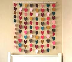 Wall Decoration Ideas With Paper Step By Decorations Decor