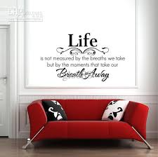 decorative words for walls yw1002 60 80cm wall words lettering saying wall decor sticker