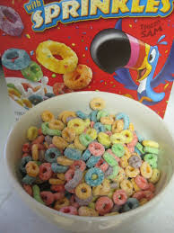 Froot Loops Better With Milk
