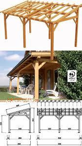 pergola adossee pas cher abri terrasse bois à pas cher avent de terrasse en bois 15 33mc