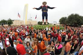 A Look At Big Tex Before He Burned Down
