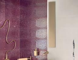 amaranth crocodile italian designer ceramic tiles