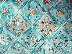 the newer styles of turkish tiles were originally created during