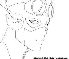Kid Flash By Amb33r619
