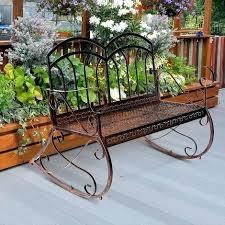 Garden Bench Bq Design 2 Metal Benches Amazing Black Inspiring Outdoor