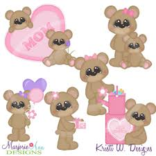 Mommy Clipart Bear 11