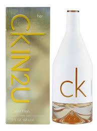 calvin klein eau de toilette femme calvin klein ckin2u eau de toilette 150 ml parfums et cosmétiques