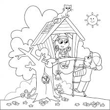 Download Coloring Pages Free Summer Page Printable