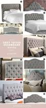 Skyline Button Tufted Headboard by Grey Tufted Headboard Roundup For Under 500 Mendon Belle