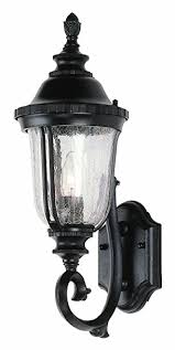 trans globe lighting 4021 bk outdoor chessie 20 wall lantern