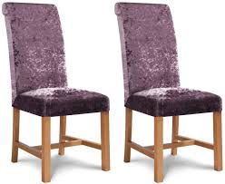 Ross Giltz Heather Fabric Dining Chair (Pair) Ax Mgaret Purple Velvet Ding Chair Contemporary Room Design Ideas Showcasing Rectangle White Chairs First Fniture Nella Vetrina Visionnaire Ipe Cavalli Single Katie Arm Bri Kitchen Fabric Metal Frame Modern Set Industrial Vintage Wood Iron Antique Finish Cello Buy Wrought Chairspurple The Store Oak Leather And Chairs Archives Cumbria Wooden Effect Legs Living With Back And Arms Also Four Glass Round Table Natural Pine Tabletop