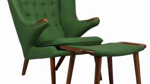 Hans Wegner Papa Bear Chair Leather by Hans J Wegner Pp19 Papa Bear Chair At 1stdibs Intended For