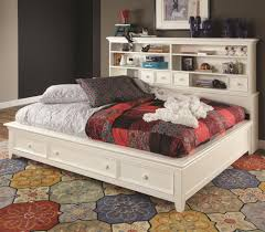 Value City Furniture Twin Headboard by Willow Run Twin Sideways Platform Bed With Slat Pack By Lea