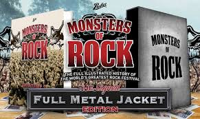 Monsters Of Rock Official Illustrated History In Words And Pictures