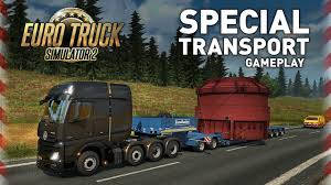 100 Truck Simulator 2 Euro Special Transport Gameplay
