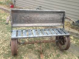 100 Chalks Truck Parts Bench My Husband Made With Old Car And Truck Parts Outdoors Car