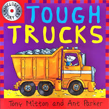 Tough Trucks & Tremendous Tractors Story Book And Audio CD By Tony ...