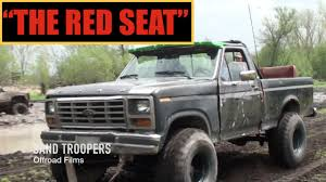 100 1982 Ford Truck THE RED SEAT Kellenbergers Mud Bog FORD F150 YouTube