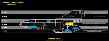 Starship Deck Plans Star Wars by Star Trek Sarajevo Type Starship Deck Plan By Jimmer2193 On Deviantart