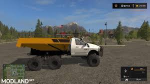 100 Rock Truck Dodge Dump V 10 Mod Farming Simulator 17