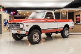 100 1972 Chevy Truck 4x4 Chevrolet K10 Classic Cars For Sale Michigan Muscle Old