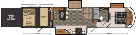 2016 5th Wheel Toy Hauler Floor Plans by 100 2014 Voltage Toy Hauler Floor Plans Rv Net Open Roads