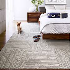 Berber Carpet Tiles Peel Stick lacebark patchwork bedrooms and contemporary rugs
