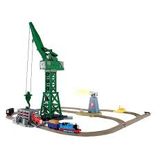 Tidmouth Sheds Deluxe Set by Cranky And Flynn Save The Day Deluxe Set Thomas And Friends