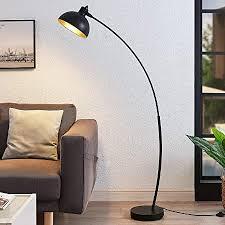 lindby stehle bogenleuchte phileas modern in schwarz aus metall ua für wohnzimmer esszimmer 1 flammig e27 a bogenle