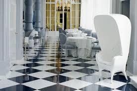 black and white floor black white polished porcelain tiles