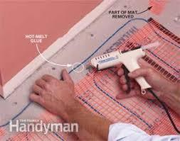 how to install in floor heat family handyman