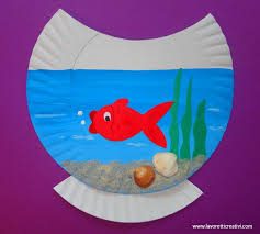 How To Make Fish Crafts For Preschoolers Paper Plate Ideas Kids On Rainbow Fis