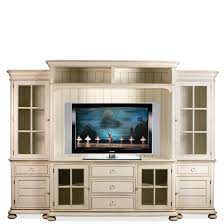 Riverside Furniture Placid Cove Entertainment Wall Unit with Panel