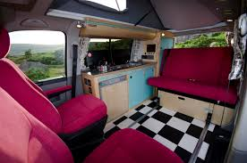 VW T5 Campervan Conversion Interior Cambeecouk
