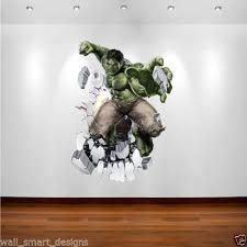 incredible hulk marvel superhero wall art sticker decal transfer