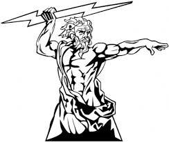 Drawn Lightening Zeus 12