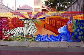 Balmy Street Murals Address by Arts And Eats In The Mission