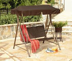 Patio Swings With Canopy by Garden Oasis Zs110241 1 Resin Wicker Patio Swing Limited