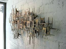 Modern Metal Wall Sculpture Contemporary Art